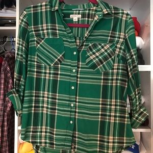 Merona Flannel Shirt Size S
